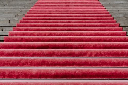 Tapis rouge et red carpet