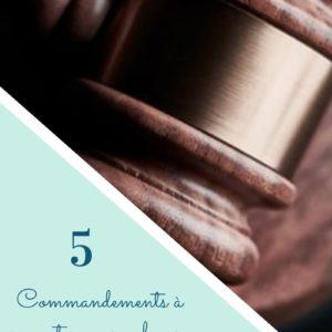 5 commandements à respecter pour achever son roman ou son scénario